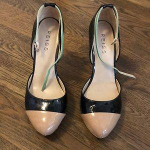 Reiss two toned heel